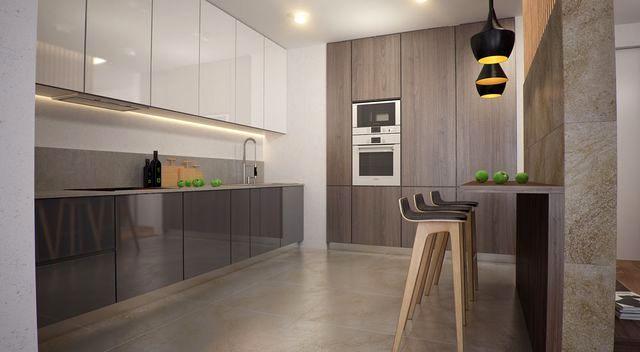 кухня производства фабрики Smiela в стиле модерн