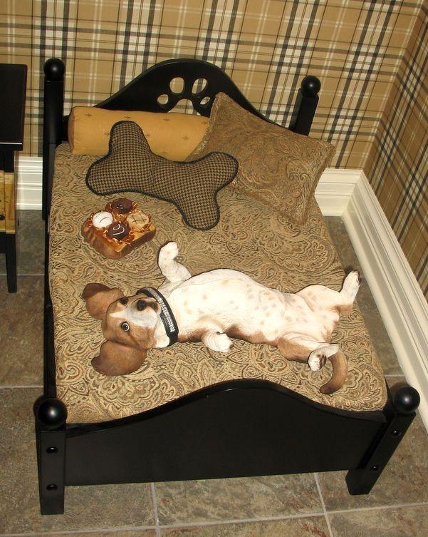 кровать для домашней собачки
