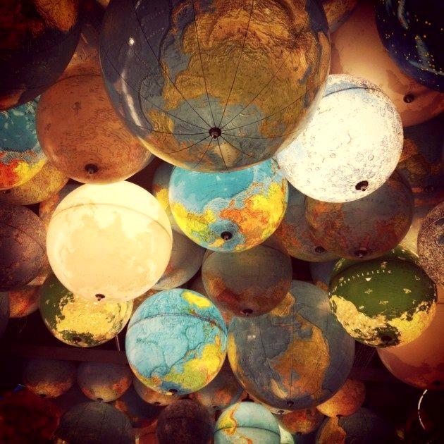 абажуры для потолочных светильников из глобуса