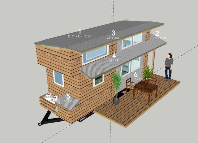 план дом на колесах