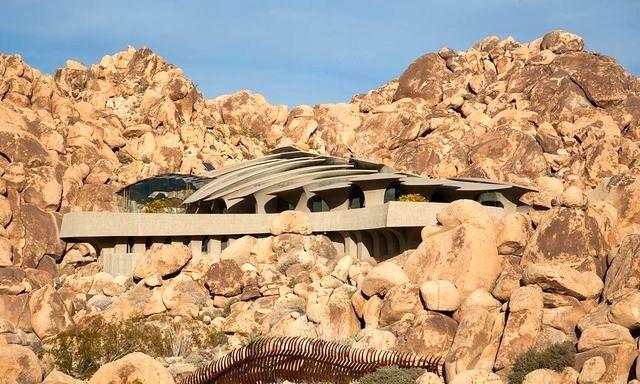 каменный дом в скалах Национального парка Джошуа-Три