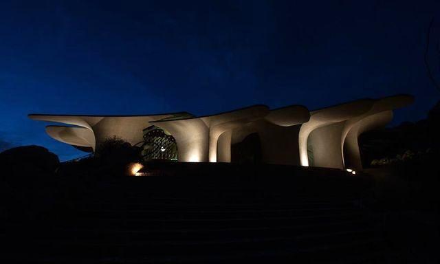 ночной вид на резиденцию архитектора Kendrick Bangs Kellogg