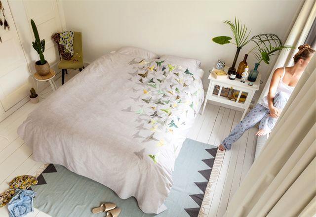 постельное белье snurk с 3d изображением бабочек