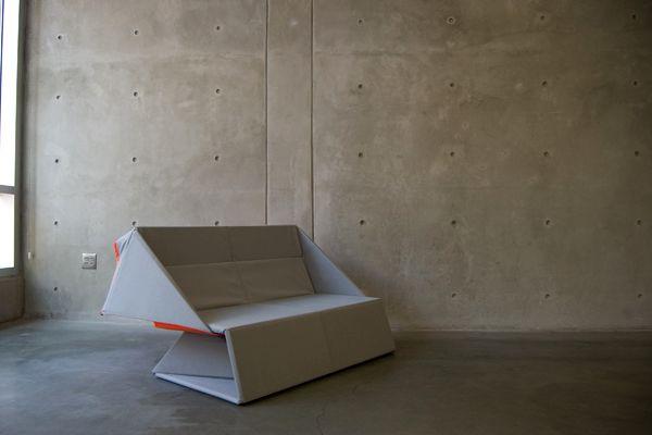 диван трансформер в виде оригами