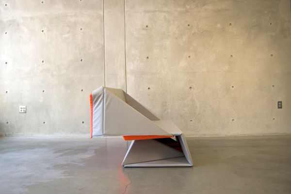 диван трансформер оригами от Yumi Yoshida