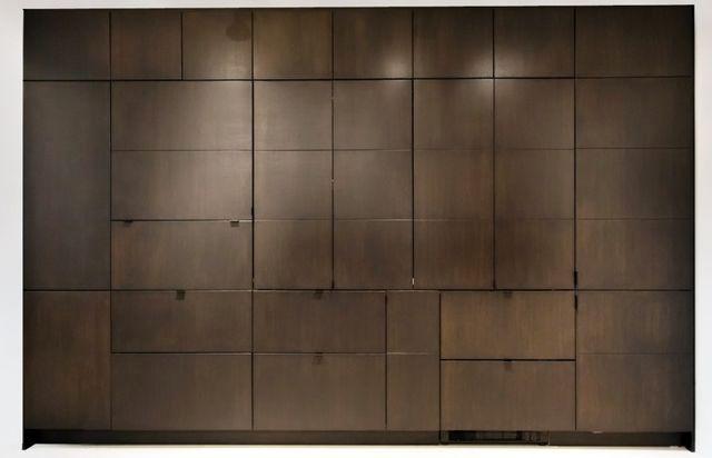 инновационная скрытая кухня Stealth Kitchen в закрытом виде