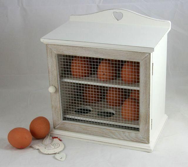 ящик с сетчатой дверью для яиц