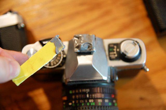 холодная сварка для сваривания фотокамер