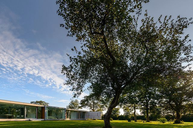 стеклянный дом villa sterk