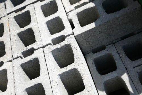 бетонные блоки для остова кровати