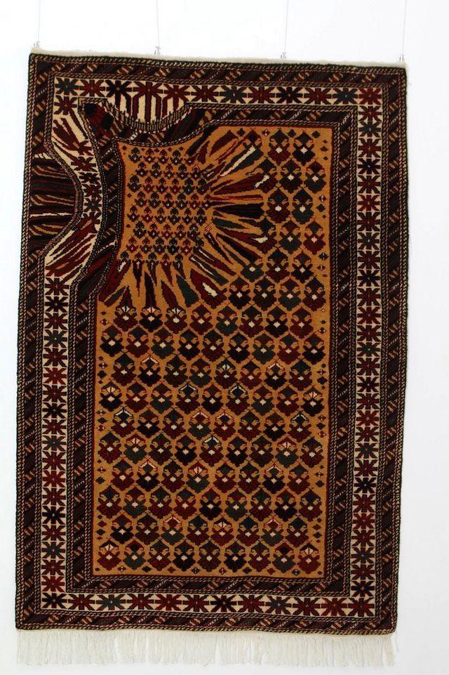 оригинальные азербайджанские ковры от Faig Ahmed