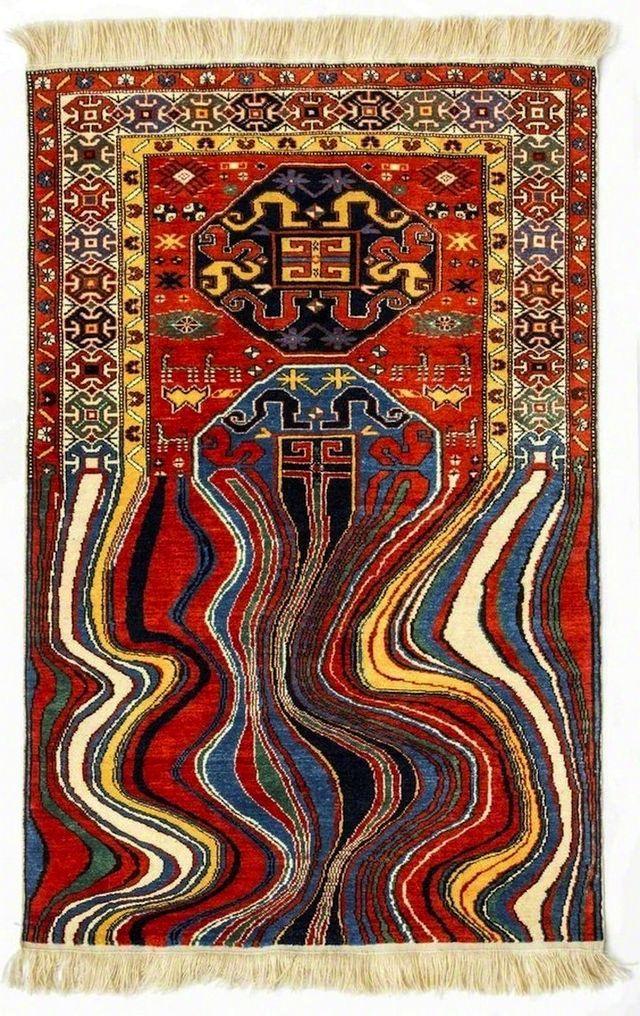 необычны ковры от Faig Ahmedнеобычны ковры от Faig Ahmed