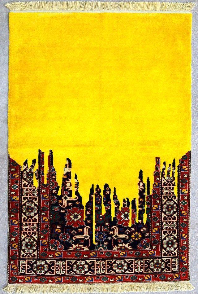 оригинальные ковры от Faig Ahmed