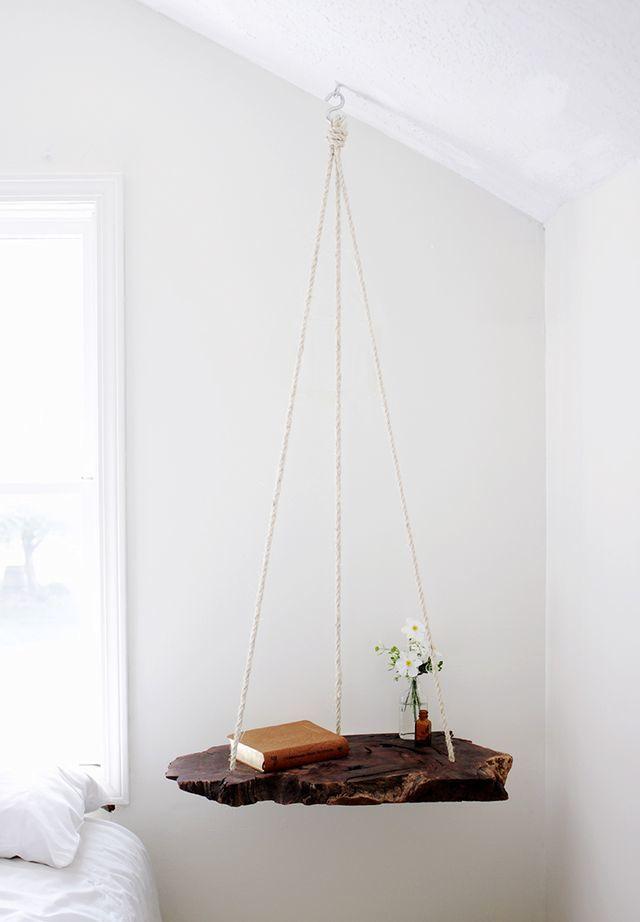 подвесной стол на веревках своими руками