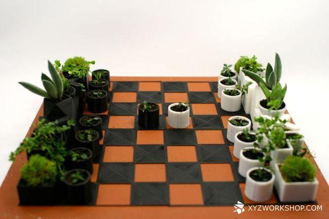 оригинальные и необычные шахматыне фигуры
