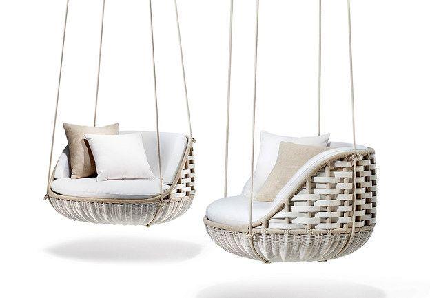 подвесные кресла качели для сада