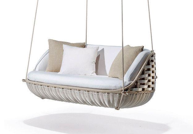 подвесной качели для гостиной на свежем воздухе