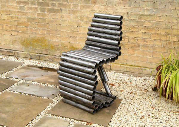 стул - мебель из труб