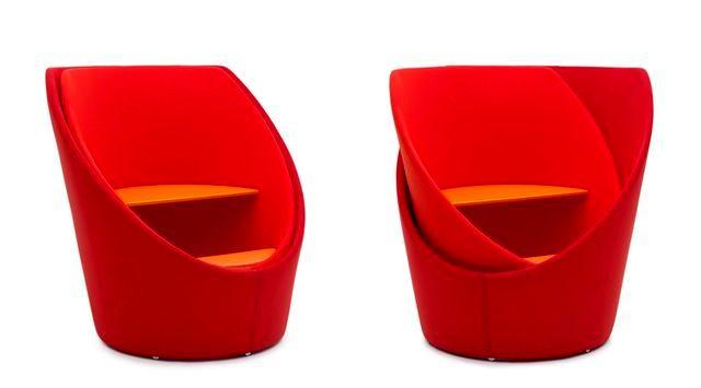 вращающееся закрывающееся кресло Tuttomio от Campeggi