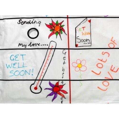 постельное белье doodle для росписи фломастерами
