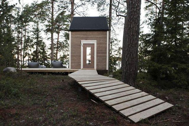 деревянный летний мини домик площадью менее 10 квад метров