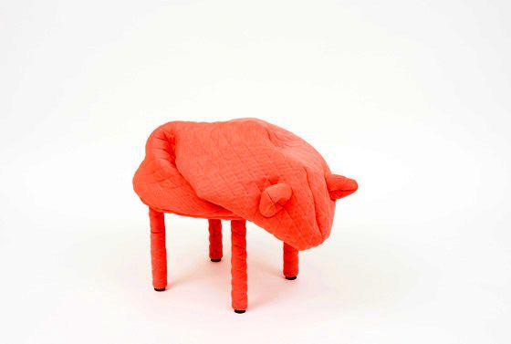 детский стульчик в виде свинки