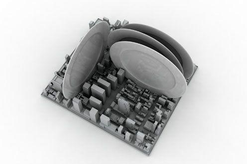 резиновая сушилка Inception для тарелок