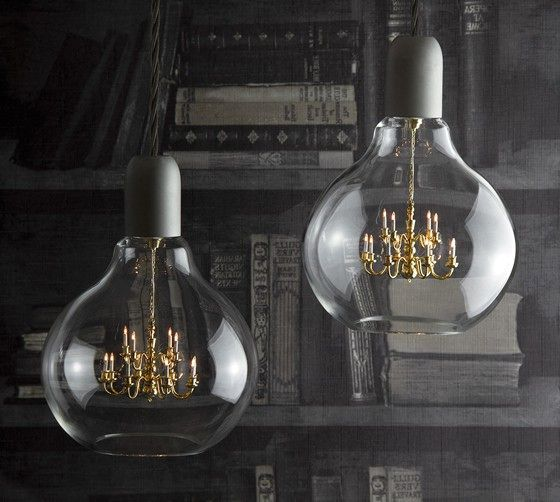 люстра в виде лампочки