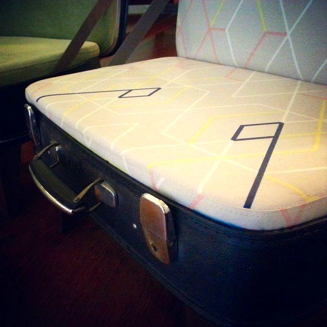 детское кресло из чемодана