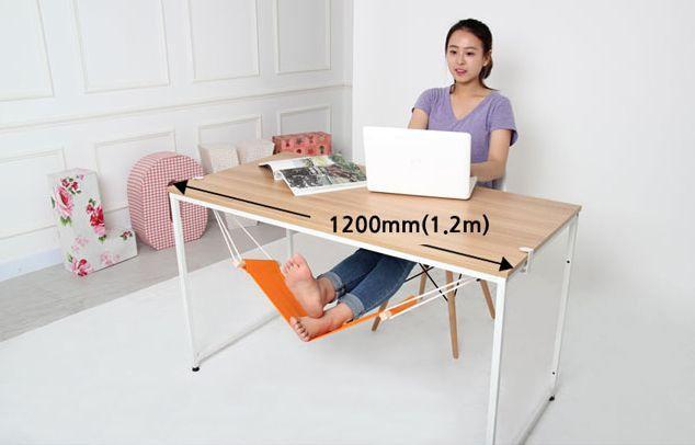 гамак для ног под столом