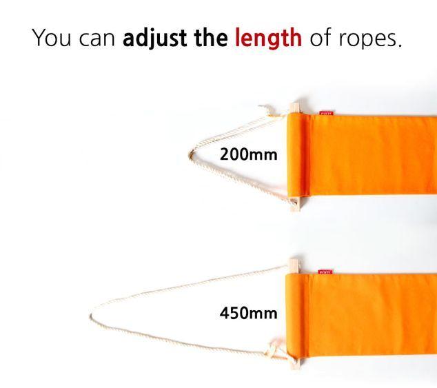 регулируемая длина гамака для ног fuut