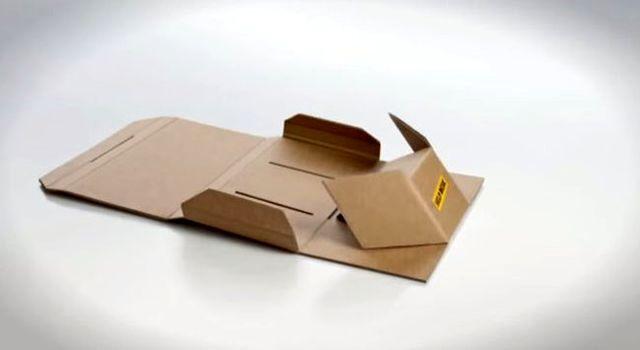 складная парта-сумка из картона для бедных