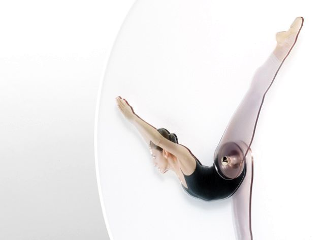 Танцующее время, часы с балериной