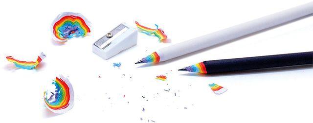 радужные карандаши Duncan Shotton
