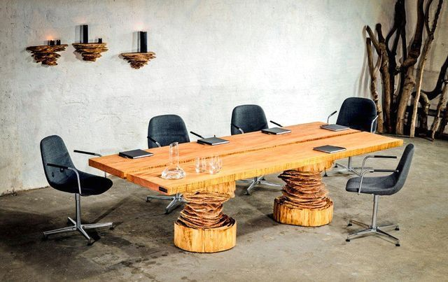 деревянная мебель бензопилой woodnwonder