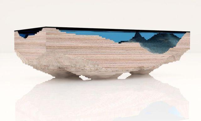 стол Бездна от дизайнера Christopher Duffy