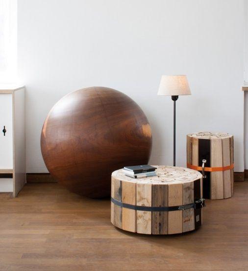 деревянный журнальный столик от Oliver Conrad