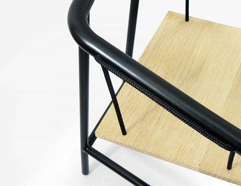 стул-качели portique armchair, детали