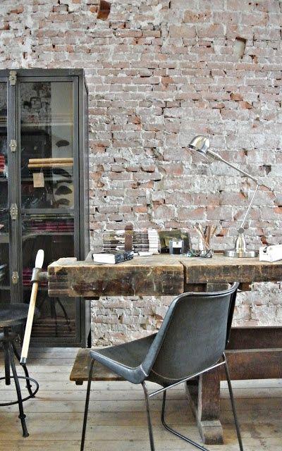 индустриальные столы для кабинета