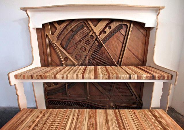 компьютерный стол из пианино своими руками