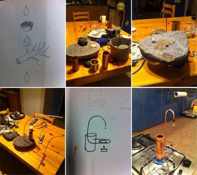 маленькая сауна для рабочего стола Marcis Ziemins