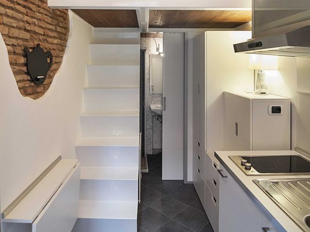 интерьер самой маленькой квартиры 7 кв м