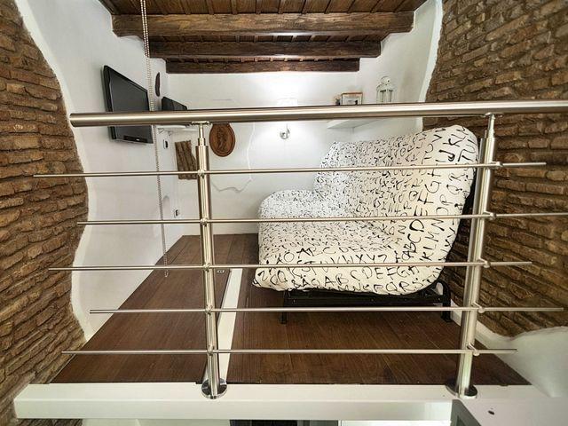 интерьер спальни-гостиной маленькой квартиры 7 кв м