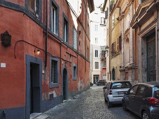 дом, где находится самая маленькая квартира в Италии 7 кв м