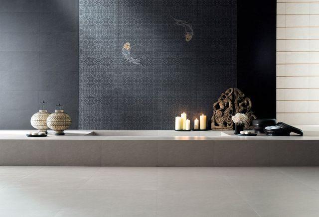 керамическая плитка, имитирующая обои серия aquarium