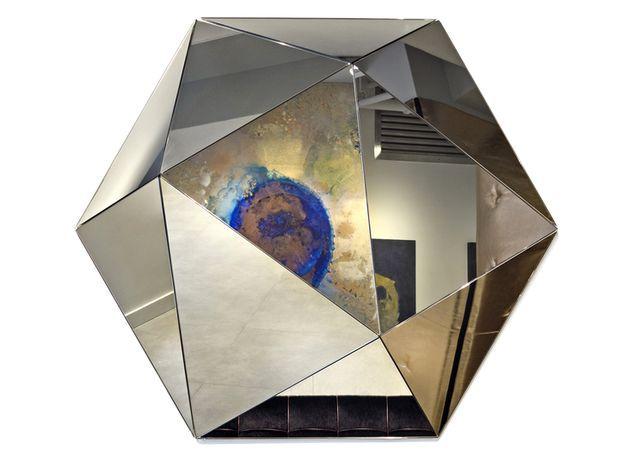 объемные зеркала в интерьере