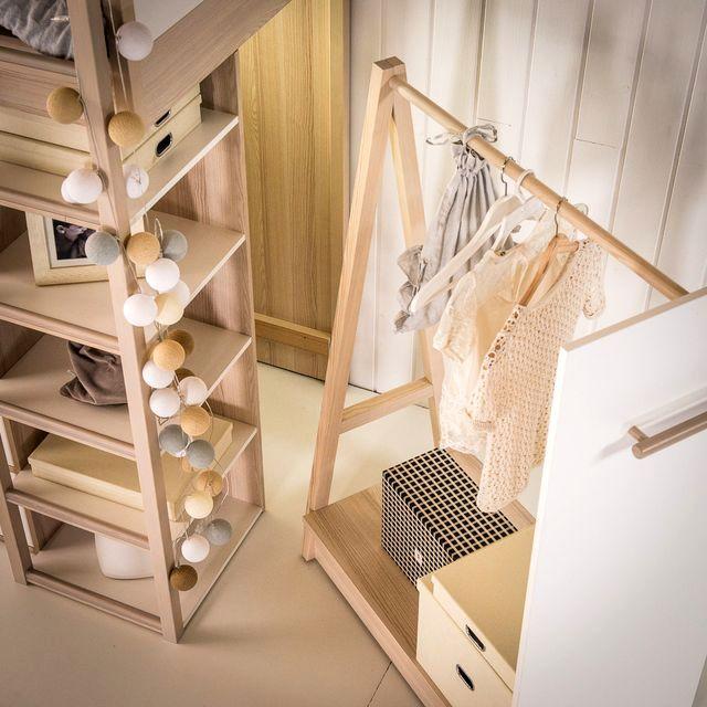 деревянная детская модульная мебель Spot