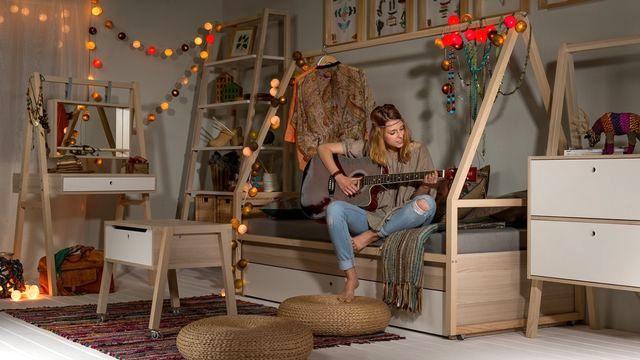 модульная мебель для девушки