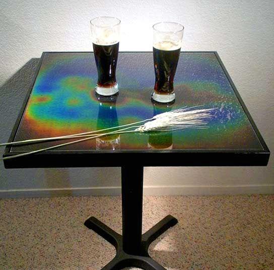 стол с термопокрытием
