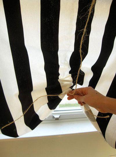 римские шторы на завязках своими руками